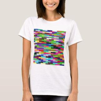 multicolored bricks T-Shirt