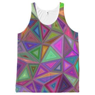Multicolored chaotic triangles