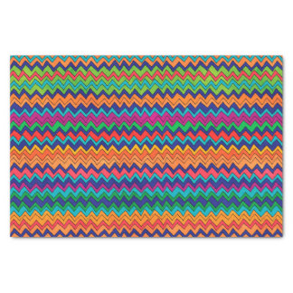 Multicolored Chevron Pattern Tissue Paper