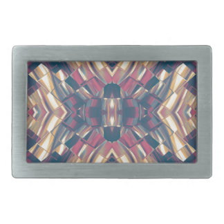 Multicolored Dark Modern Belt Buckle