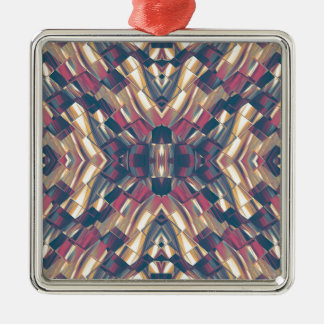 Multicolored Dark Modern Metal Ornament