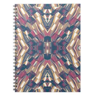Multicolored Dark Modern Notebooks