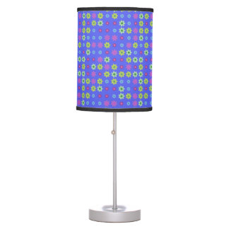 Multicolored Decorative Flower Table Lamp