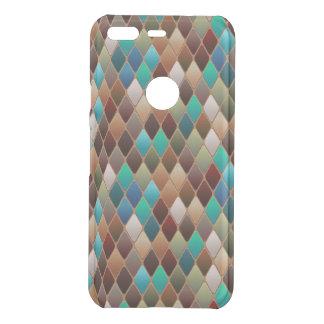 Multicolored Diamond Pattern Uncommon Google Pixel Case