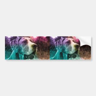 Multicolored Dogge sticker