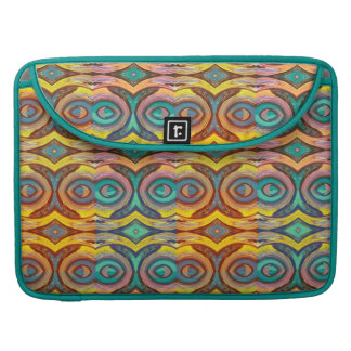 Multicolored Elegant Geometric   Design MacBook Pro Sleeve