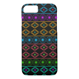 Multicolored examined iPhone 8/7 case