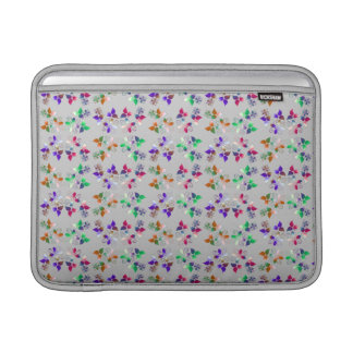 Multicolored examined MacBook sleeve