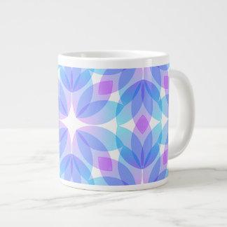 Multicolored Floral Background Jumbo Mug