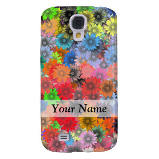 Multicolored floral pattern