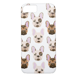 Multicolored Frenchies Case-Mate iPhone Case