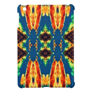 Multicolored Geometric Abstract Design Case For The iPad Mini