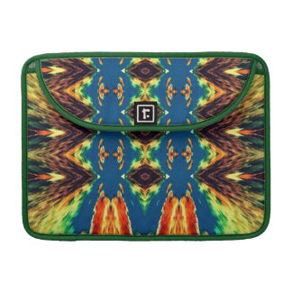 Multicolored Geometric Abstract Design MacBook Pro Sleeves