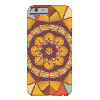 Multicolored geometric flourish barely there iPhone 6 case