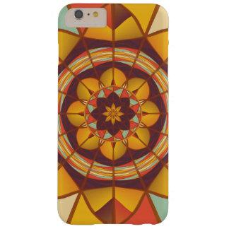 Multicolored geometric flourish barely there iPhone 6 plus case