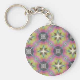 Multicolored Gift Office Household, Products Basic Round Button Keychain