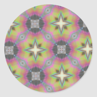 Multicolored Gift Office Household, Products Round Sticker