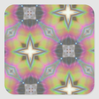 Multicolored Gift Office Household, Products Square Sticker
