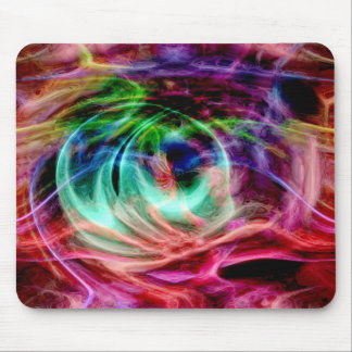 Multicolored Glow Mouse Pad