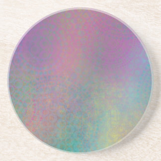 Multicolored Grungy Texture Abstract Remix Coaster