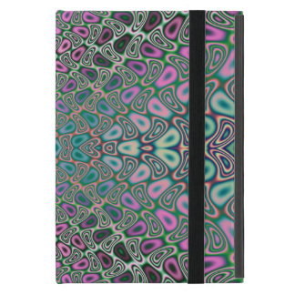 Multicolored Hologram Butterfly Fractal Abstract Case For iPad Mini