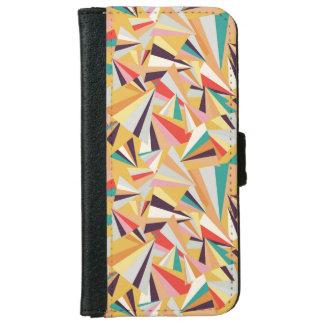 multicolored iphonescherben iPhone 6 wallet case