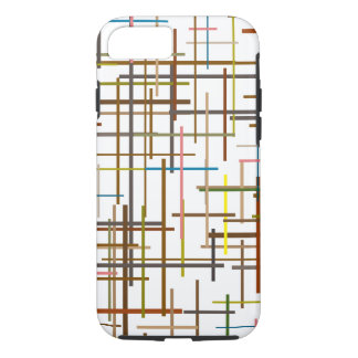 Multicolored Ladder Lining Pattern iPhone 7 Case