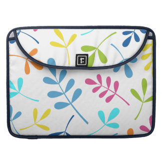 Multicolored Large Assorted Leaves Design MacBook Pro Sleeve