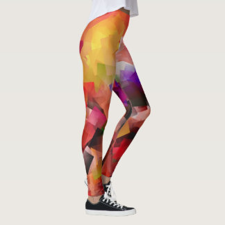 Multicolored Leggings