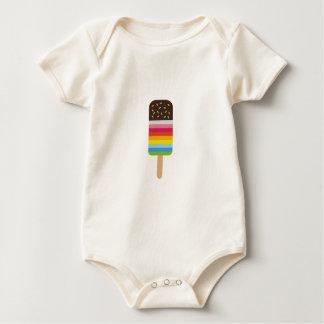Multicolored Lolly Pop Icecream Baby Bodysuit
