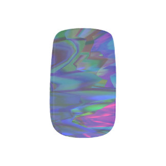 Multicolored Minx® Nail  Neon Wraps Minx Nail Art