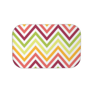 Multicolored Modern Chevron Lunchbox Faceplates