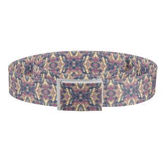 Multicolored Modern Geometric Belt