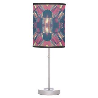 Multicolored Modern Geometric Table Lamp