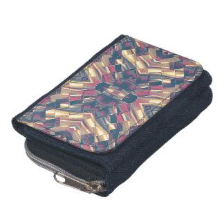 Multicolored Modern Geometric Wallet
