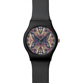 Multicolored Modern Geometric Wrist Watches