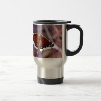 Multicolored Moth Travel Mug