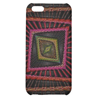Multicolored psychedelic squares iPhone 5C cover