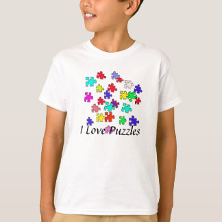 Multicolored puzzles T-Shirt
