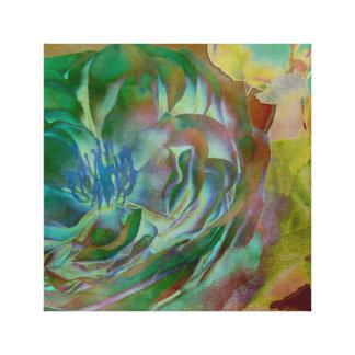 Multicolored rose canvas print