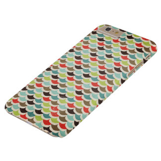 Multicolored Scallop Print Barely There iPhone 6 Plus Case