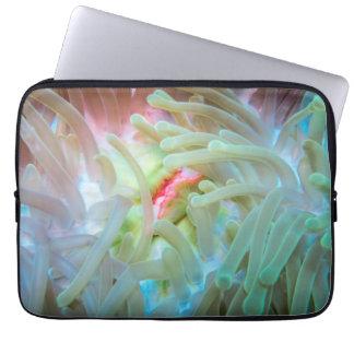 Multicolored Sea Anemone Laptop Computer Sleeve