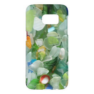 Multicolored Sea Glass Samsung Galaxy S7 Case