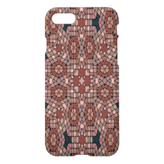Multicolored small square pattern iPhone 7 case