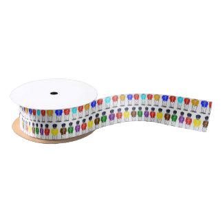 Multicoloredsoldiers Satin Ribbon