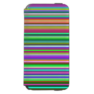 Multicolored Stripes Incipio Watson™ iPhone 6 Wallet Case