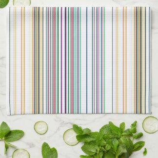 Multicolored Stripes Kitchen Towel