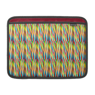 Multicolored Stripes Pattern MacBook Air Sleeve
