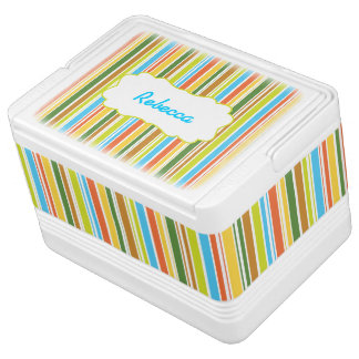 Multicolored Stripes & Personalized