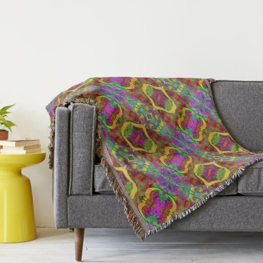 MultiColored Throw